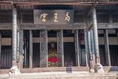 """重庆荣昌路孔镇湖广""""yuwanggong""""和禹王塑像 — 图库照片"""
