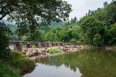 Chongqing Banan District East River Springs five cloth stone — Stock Photo