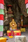 Banan okres, chongqing city, east river springs pět hadřík buddha buddha jeskyně — Stock fotografie