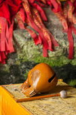 Banan distrito, la ciudad de chongqing, east river springs paño cinco buddha cueva de buddha — Foto de Stock
