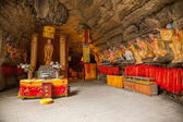 "Banan District, Chongqing City, East River Buddha Cave Springs five cloth ""Ocean"" — Stock Photo"