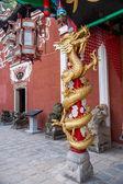 "Enshi toast toast Imperial City ""Nine into Hall"" main entrance LONG Zhu — Stock Photo"