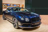 2013 Chongqing Auto Show Bentley Series car — Zdjęcie stockowe
