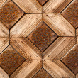 Wooden craved background — Stock Photo