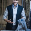 Handsome tailor man — Stock Photo #39758373