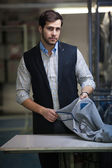 Handsome tailor man — Stockfoto