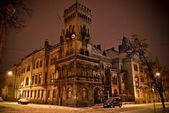 Ancient building in the night — Foto de Stock