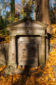 An old entombment on a cemetery — ストック写真