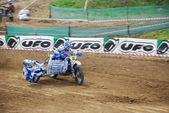 CHERNIVTSI,UKRAINE: motocross sport — Stock Photo