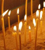 свечи справочная информация — Стоковое фото