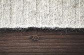 Ylletröja på trä — Stockfoto