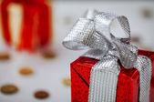 Gift boxe — Stock Photo