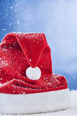 Hat of Santa Claus — Stock Photo