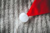 Jerseys de lana y sombrero de la Navidad — Foto de Stock