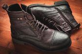Men's boot — Stock Photo