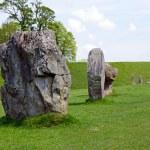 Standing stones at Avebury, England — Stock Photo #26425449