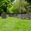 Graveyard at Saint James church, Avebury, England — Stock Photo