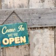 Open Sign — Stock Photo #27573349