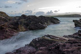 Cornish dusk seascape — Stock Photo