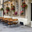 Stock Photo: Deserted street cafe