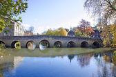 Gammal town bro i bradford på avon, england — Stockfoto