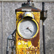 Old gasoline pump — Stock Photo #40247575