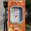Old gasoline pump — Stock Photo #40247997