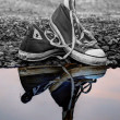 Reflective trainers — Stock Photo #26202033