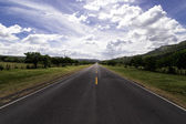Road view — Stock Photo