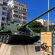 Stockfoto: Tank in revolution musuem, LHavana