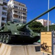 Stock Photo: Tank in revolution musuem, LHavana