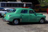 Old car in La Havana — Stock Photo