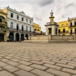 Plaza vieja in La Havana — Stock Photo