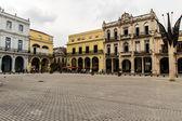 Plaza vieja in La Havana — Stock Photo