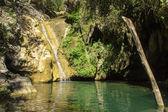 Přírodní vodopád — Stock fotografie
