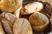 素朴なパン グループ — ストック写真