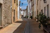 Street view from Begur — Foto de Stock