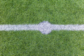 Futbol çim — Stok fotoğraf