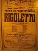 Theatre La Scala in Milan. The stage and the interior. — Stock Photo