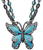 Kelebek kolye takı — Stock Photo