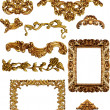 Antique frame — Stock Photo #39985895
