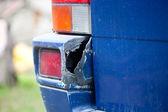 Broken Bumper — Stock Photo