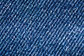 Blue Jean-Denim Texture — Stock Photo