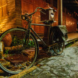 Old Bicycle at Amphawa, Samut Songkhram, Thailand — Stock Photo