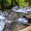 Huay Mae Khamin Waterfall, Kanchanaburi, Thailand — Stock Photo