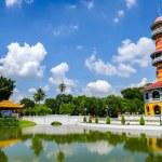 Withun Thasasa Tower (Ho), Ayuthaya, Thailand — Stock Photo #33211175