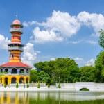 Withun Thasasa Tower (Ho), Ayuthaya, Thailand — Stock Photo #33211199