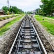 Stock Photo: Railway in Contryside of Thailand