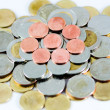 Stock Photo: Thai Baht Coins background