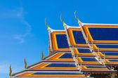 Wat Phra Kaew, Temple of the Emerald Buddha, Bangkok, Thailand. — Stock Photo